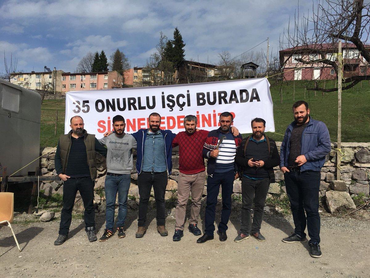 Murgul Cengiz İnşaat işçilerinin bitmeyen mücadelesi – Alper Şeyhoğlu -  Bağımsız Maden İşçileri Sendikası